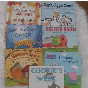 7 Scholastic Children's Book Lot